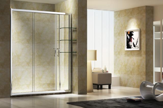 淋浴房厂家分析淋浴房玻璃门为