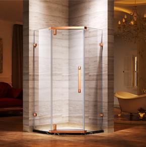 <b>68D21钻石型平开方门淋浴房</b>