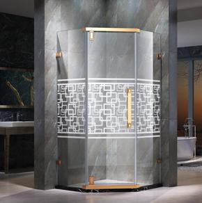 <b>68D21钻石型平开方淋浴房</b>