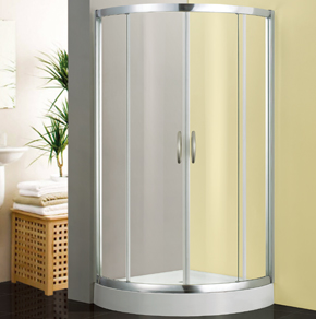 81C22全弧型推拉淋浴房