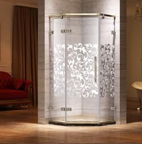 52D21钻石平开门淋浴门
