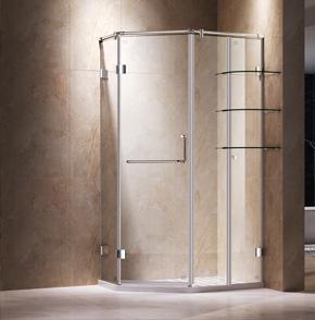60D21-3钻石平开淋浴房
