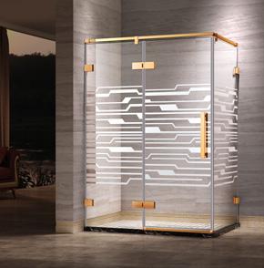 66L21方型平开门淋浴房