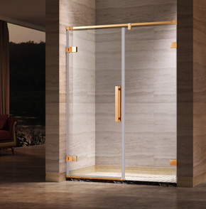 66P11屏风平开门淋浴房