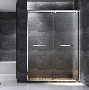 TNP02不锈钢推拉屏风淋浴房